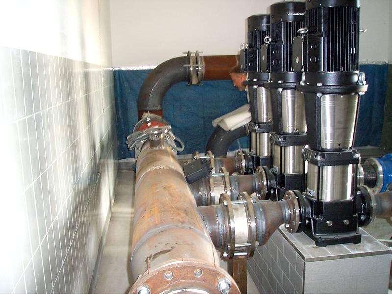 Pumpen Und Leitung