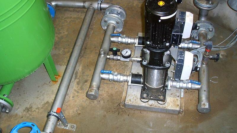 Ansicht Maschinentechnik 1